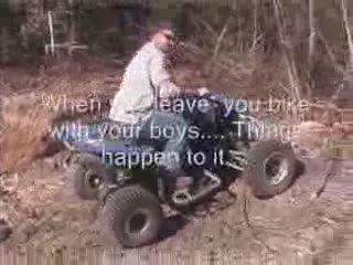 ATV Jumping Movies from:ATV CRASHER